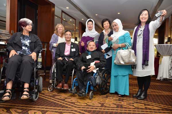 Datuk Fatimah, Dr Ling, Dr  Meekosha , Gill, Donald Law and Peter Tan