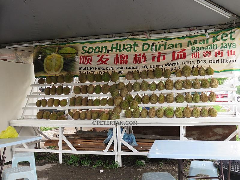 Soon Huat Durian Market