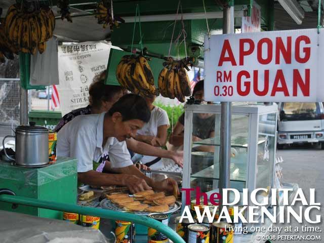Apong Guan - delicious pancake in Burmah Road, Penang