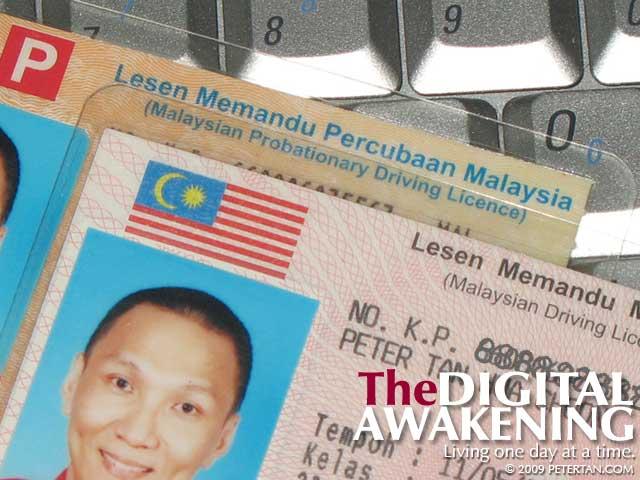 Malaysian Competent Driving License - Lesen Memandu Kompeten